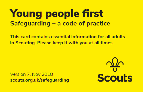Young people first. Safeguarding - a code of practice